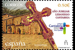Spanje / Spain - Postfris / MNH - Jubileum Lebaniego 2017