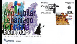 Spanje / Spain - Postfris / MNH - FDC Jubileum Lebaniego 2017