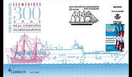 Spanje / Spain - Postfris / MNH - FDC 300 Jaar Marine 2017