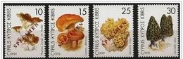 Cipro/Chypre/Cyprus: Specimen, Funghi Diversi, Différents Champignons, Different Mushrooms