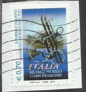 ITALY REPUBLIC ITALIA REPUBBLICA 2013 PROPAGANDA TURISTICA TOURISM MANIFESTO ENIT USATO USED OBLITERE´ - 6. 1946-.. Republic
