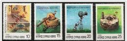 Cipro/Chypre/Cyprus: Specimen, Mulini Di Cipro, Mills Of Cyprus, Moulins De Chypre