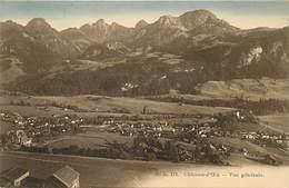 Suisse -ref C811- Chateau D Oex - Vue Generale  - Carte Bon Etat  - - Svizzera