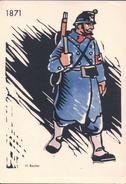 Armée Suisse 1871, Illustrateur H. Beutler (732) - Uniforms
