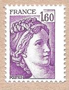 Rare Sabine 2060 ** Sans Phosphore. Cote 185 Euros - 1977-81 Sabine De Gandon