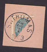 Danish West Indies, Scott #18a, Used, Number, Issued 1901 - Denmark (West Indies)