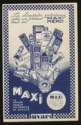 Buvard - MAXI - MERCI - PRODUIT MAXI - Vloeipapier