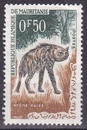 Mauritania, 1963 - 50c Striped Hyena - Nr.134 MNH** - Mauritania (1960-...)