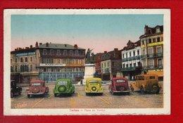 1 Cpa Carte Postale Ancienne - Tarbes Place De Verdun - Tarbes