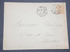 FRANCE - Entier Postal Type Mouchon De Paris Pour Houdan En 1901 - L 7800