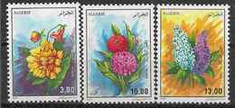 1995 ALGERIE 1083-85** Fleurs - Algerije (1962-...)