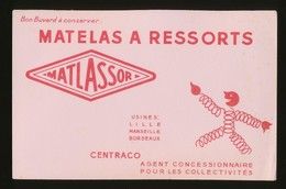 Buvard - MATLASSOR - MATELAS A RESSORTS - Blotters