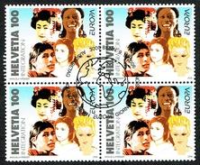 BLOC DE 4 TIMBRES OBLITERES 1er JOUR Le 9.5.2006. C/DES TIMBRES SUISSES Nr:1197. Y&TELLIER Nr:1891. MICHEL Nr:1965.