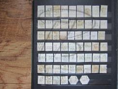 LOT DE 60 TIMBRES PERFORES DE BELGIQUE AVANT 1900 !!!
