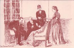 Politique Suisse, Neutralité, La Consultation (4830) - Satirisch