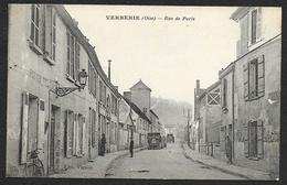 VERBERIE Rue De Paris La Poste (Vignon Cosson) Oise (60) - Verberie