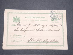 SUÈDE - Entier Postal De Göteborg En 1903 - L 7811