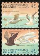 Cocos (Keeling) Islands SG 323-324 1995 Seabirds - Cocos (Keeling) Islands