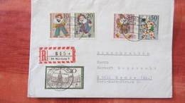 """Berlin: Satz-Brief Einschreiben Mit Wofa 70 Nach DDR Mit """"X"""" Vor Postleitzahlvom 9.11.70 Knr: 376 Ua - Covers & Documents"""