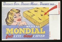 Buvard - MATELAS MONDIAL - Buvards, Protège-cahiers Illustrés
