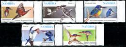 NAMIBIA 2014 Birds, Fauna MNH