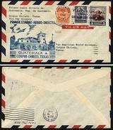 A4671) Guatemala First Flight Cover 16.12.1946 - Guatemala