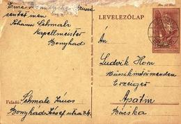 Hungary Card Bonyhad 1942 ... AH801 - Brieven En Documenten
