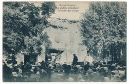 CPA - SAINT CANNAT (B. Du R) - (Tremblement De Terre Du 11.06.1909) - Le Public Attendant La Levée Des Corps - France