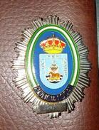 Médaille - Insigne Police Municipale De SANLUCAR - Espagne - - Polizia