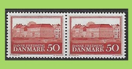 Denmark, 1966 2x Mi 442 ** MNH Postfrisch