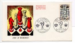 - FRANCE - FDC LE HAVRE 2.4.1966 - JEU D'ECHECS -
