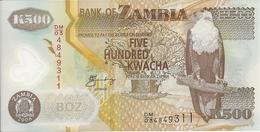 ZAMBIE 500 KWACHA 2008 UNC P 43 F - Zambie