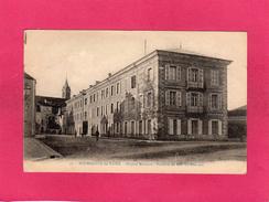BOURBONNE LES BAINS, Hôpital Militaire, Pavillon De MM. Les Officiers, Animée, (L. Lauxerois), 52 Haute Marne - Casernes
