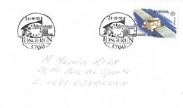 24366. Carta TONGEREN (Belgien) 1991. Comunidad Europea. Theme EUROPA