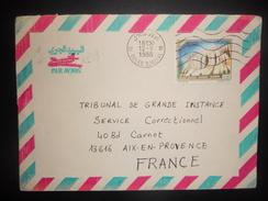Algerie , Lettre De Ouled Djellal 1988 Pour Aix