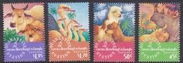 Cocos (Keeling) Islands SG 347-350 1996 Quarantine Station MNH - Cocos (Keeling) Islands