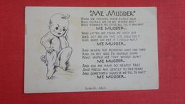 Me Mudder Ref    2585 - Humour