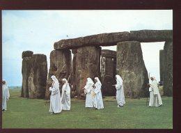 CPM Neuve Royaume Uni Druids At Stonehenge - Salisbury