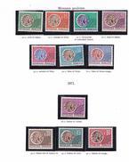 FRANCE 1964 76 PREO MONNAIE GAULOISE PREO 123 A  145 MNH **LUXE 2 SCAN
