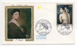 - FRANCE - FDC MONTAUBAN 9.9.1967 - Peintre INGRES - Tableau LA BAIGNEUSE -