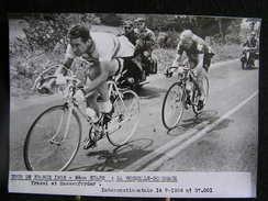 160 / Tour De France 1956, 9ème étape : La Rochelle - Bordeaux, Traxel Et Hassenforder