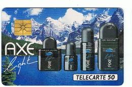 Télécarte Privées-Publiques Française AXE LIGHT Réf En8 Vide  Cote 9 € ( TBE Voir Le Scan ) - France