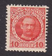 Danish West Indies, Scott #44, Mint Hinged, Frederik VIII, Issued 1908