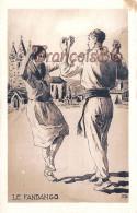 64 - Au Pays Basque - Le Fandango - Danse - Illustration Composition De R. Baudichon - Sin Clasificación