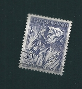 N° 801 Mineur  TIMBRE Tchécoslovaquie (1955) Oblitéré
