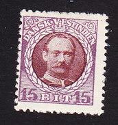 Danish West Indies, Scott #45, Mint Hinged, Frederik VIII, Issued 1908