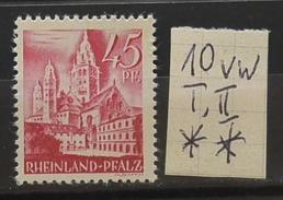 Rheinland-Pfalz 10vwII** Siehe Beschreibung