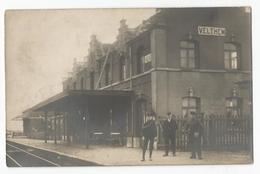 Veltem Beisem Het Station La Gare Oude Postkaart Geanimeerd Velthem Carte Postale Ancienne Animée Herent
