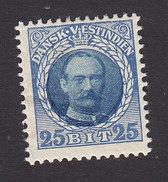 Danish West Indies, Scott #47, Mint Hinged, Frederik VIII, Issued 1908