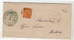 GROTTAGLIE  (province Tarente) 1883 To Mottala (362) - Marcophilie